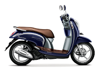 Honda Scoopy eSP Stylish Biru