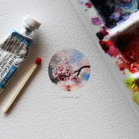 Green Pear Diaries, arte, pintura, Lorraine Loots, Postcards for Ants