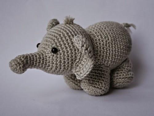 Ravelry: Esther the Elephant pattern by Jess Huff | 378x500