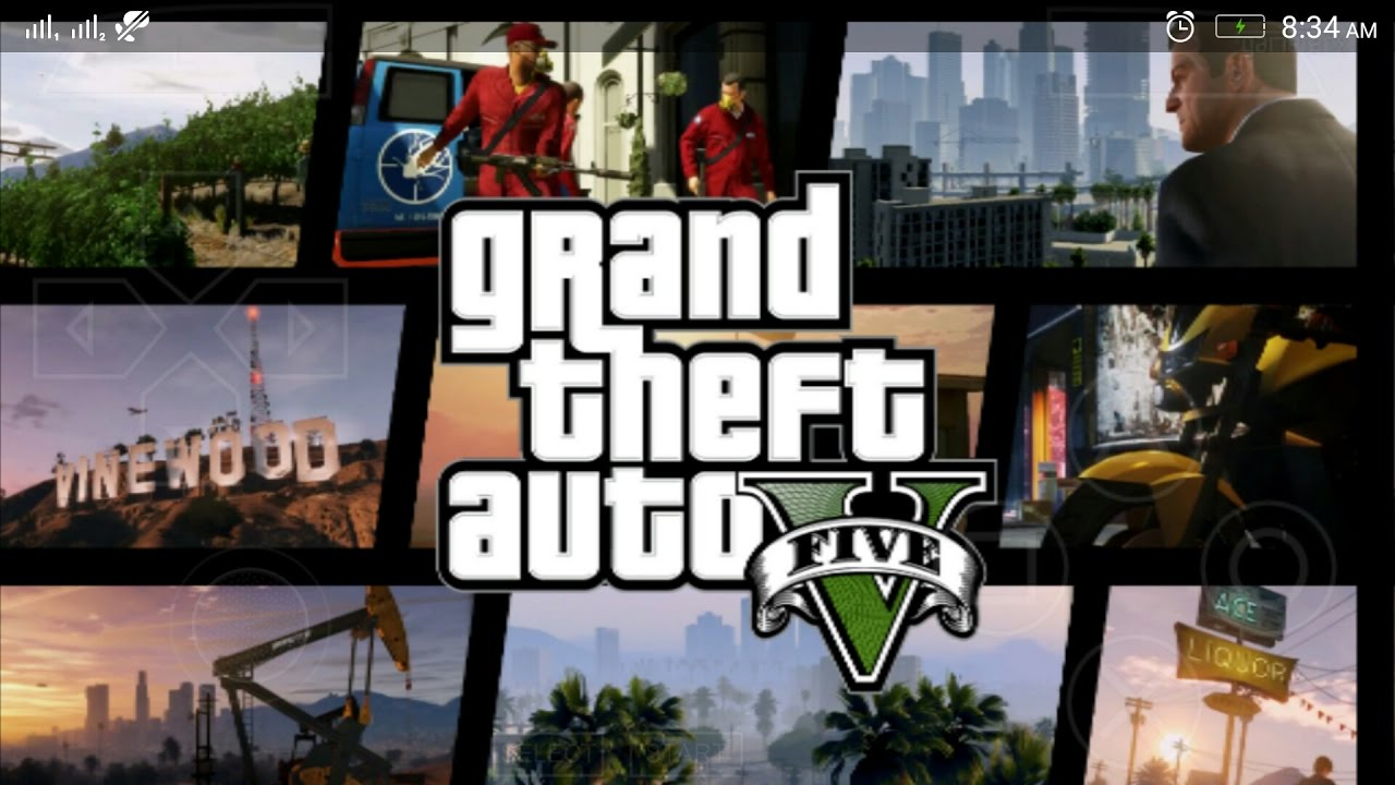 Download and Play GTA 5 (mod) PPSSPP in Android