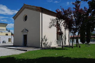 The church of Santa Croce and San Rocco, where the funeral for Pier Paolo Pasolina took place in 1975