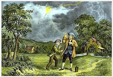 percobaan Benjamin Franklin
