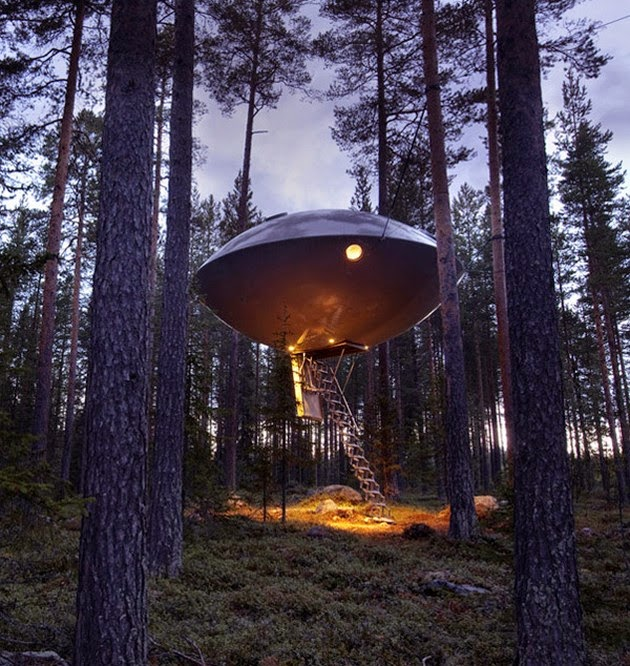 Tree House Hotel, Sweden