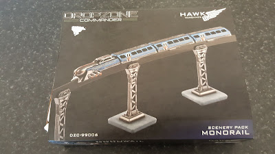 Monorail Scenery Pack from Hawk Wargames picture 1
