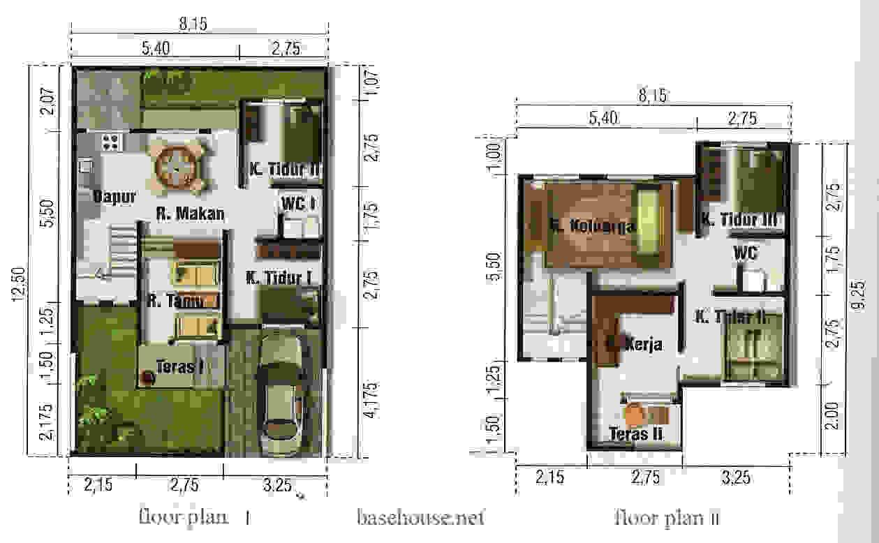Desain Rumah Minimalis 9 X 10
