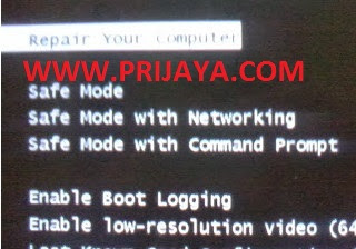 Cara Masuk Safe Mode Windows 7 Laptop Asus