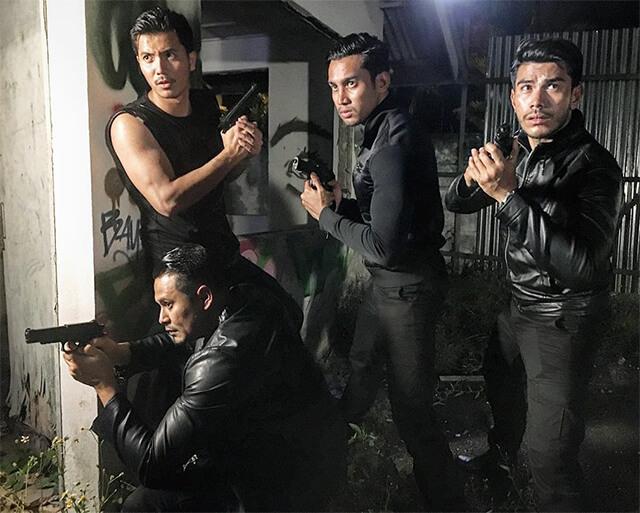Pelakon Bodyguard TV3