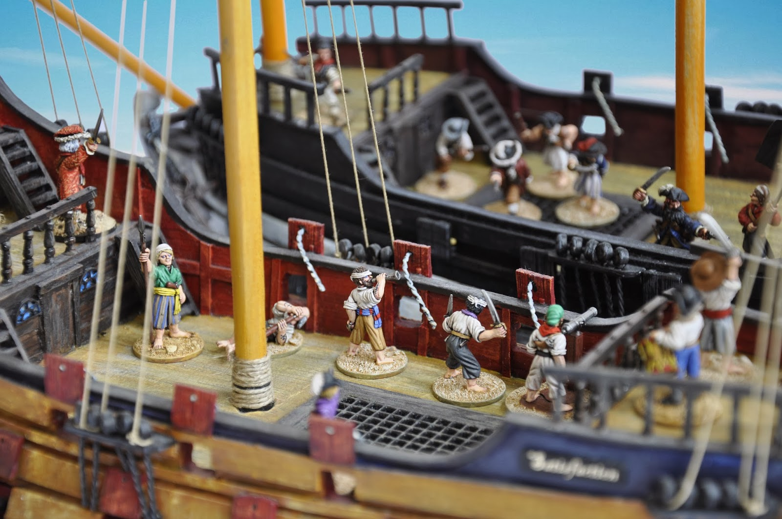 cianty's Tabletop Wargames Blog: Setting Sail: Collecting
