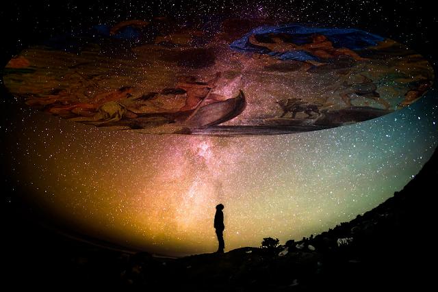 夜空を見上げると壮大なストーリーがそこにある