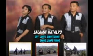 Lirik Lagu Natal Toraja Salama' Natalku (Trio Sapari)