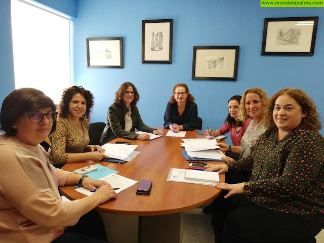 El ICI coordina las acciones de prevención y proteccióna las víctimas de violencia de géneropara este año en La Palma
