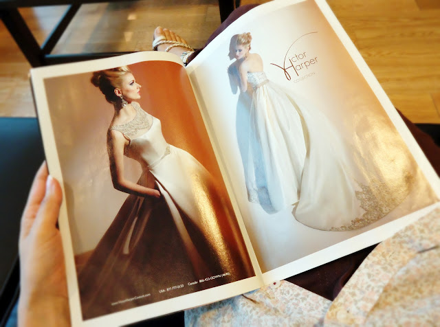 Brides Magazine: Victor Harper Wedding Gown