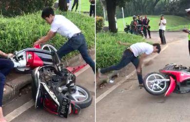 Sok Jagoan, Dua Pemuda yang Viral Akibat Menolak Ditilang Polisi