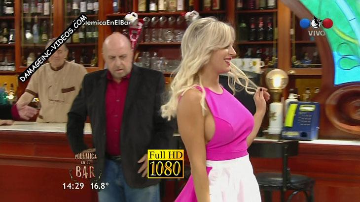 Noelia Marzol busty sideboob oops damageinc videos HD