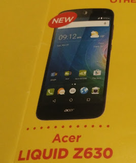 Acer Liquid Z630 Free At Sun Best Value Plan 599
