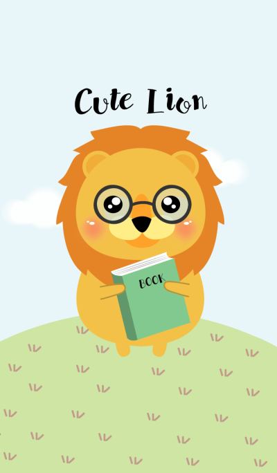 I'm Cute Lion Theme