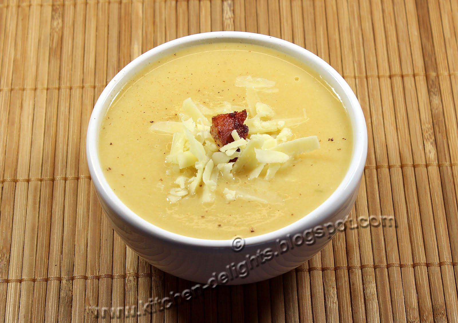 Kitchen Delights Jamie Oliver S Cauliflower Cheese Soup