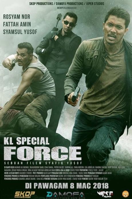 Reviu 'KL Special Force' Ikhlas Dari Hati Seorang Penggemar Movie