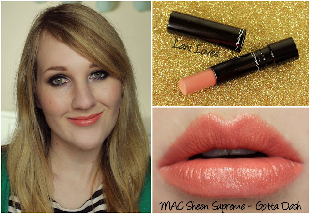 MAC Gotta Dash! Sheen Supreme lipstick swatch