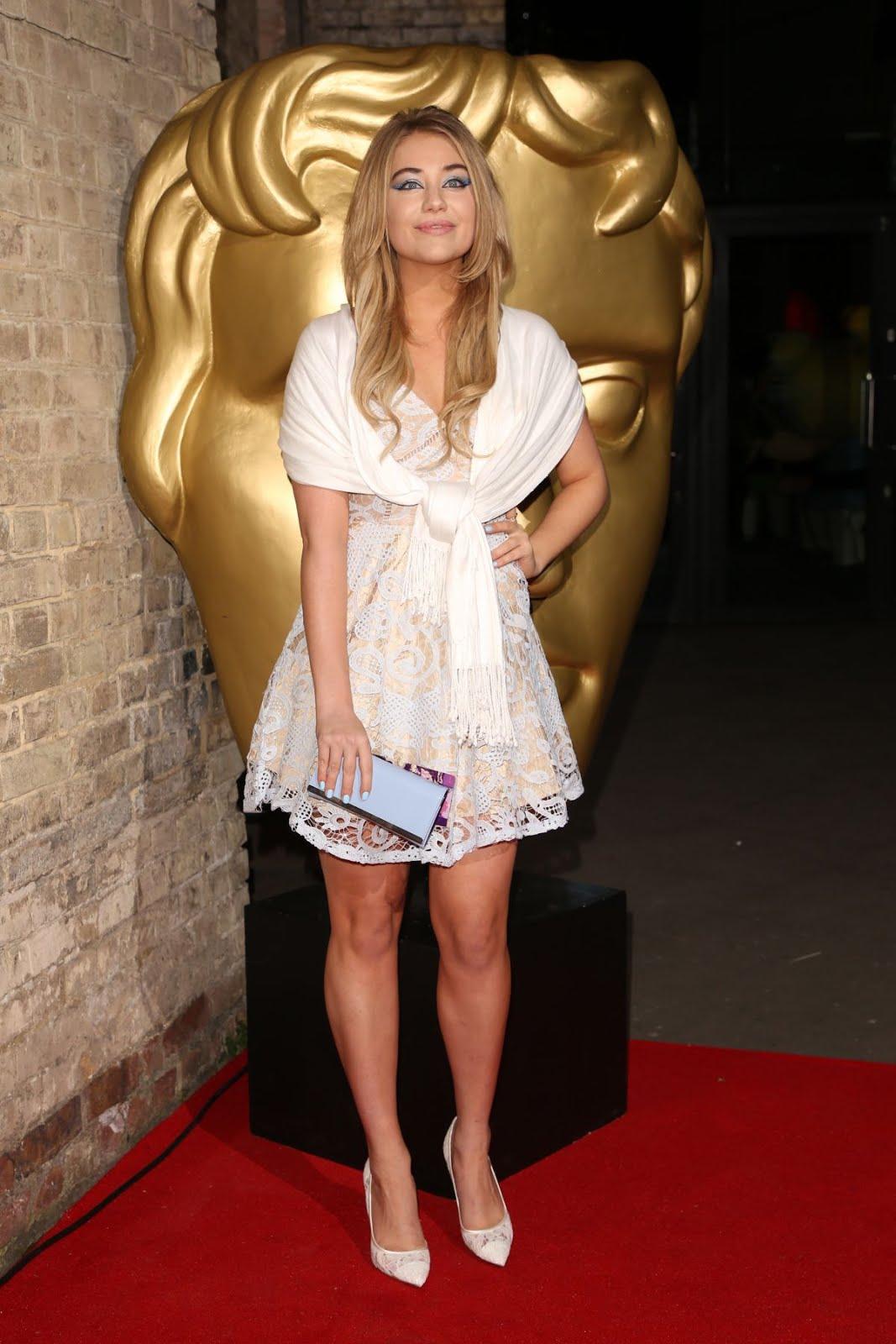 Georgia Lock at BAFTA Children's Awards 2017 in London