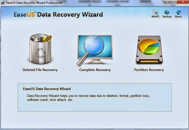 EaseUS card recovery