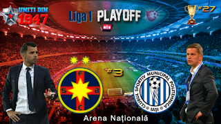 FC Steaua Bucuresti vs CSMS Poli Iasi Live Streaming online Today 01.04.2018