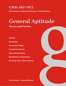 CSIR - JRF - NET General Aptitude : Theory and Practice