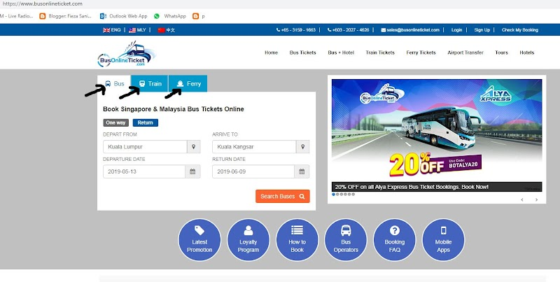 Beli Tiket Balik Kampung Secara Online