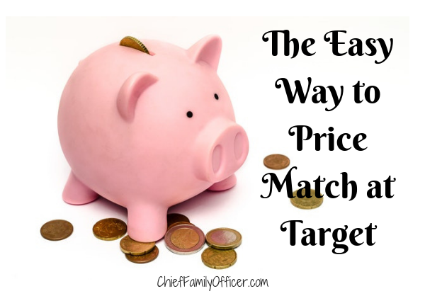 The Easy Way to Price Match at Target