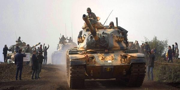 Τουρκική προέλαση στην Αφρίν: Ξεκινά η μάχη της Jandaris - Τον «υπέρ πάντων αγώνα» δίνουν οι αποκομμένοι Κούρδοι