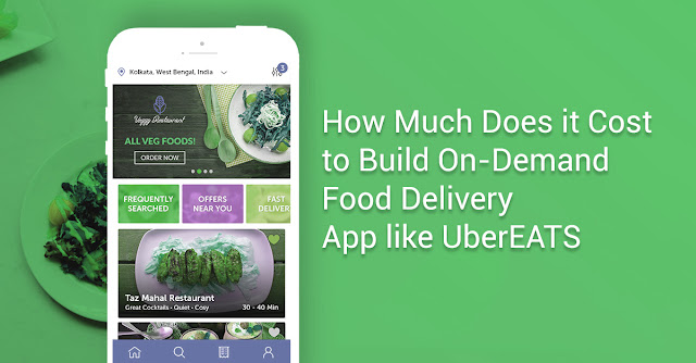 How Much Does it Cost to Build On-Demand Food Delivery App like UberEATS