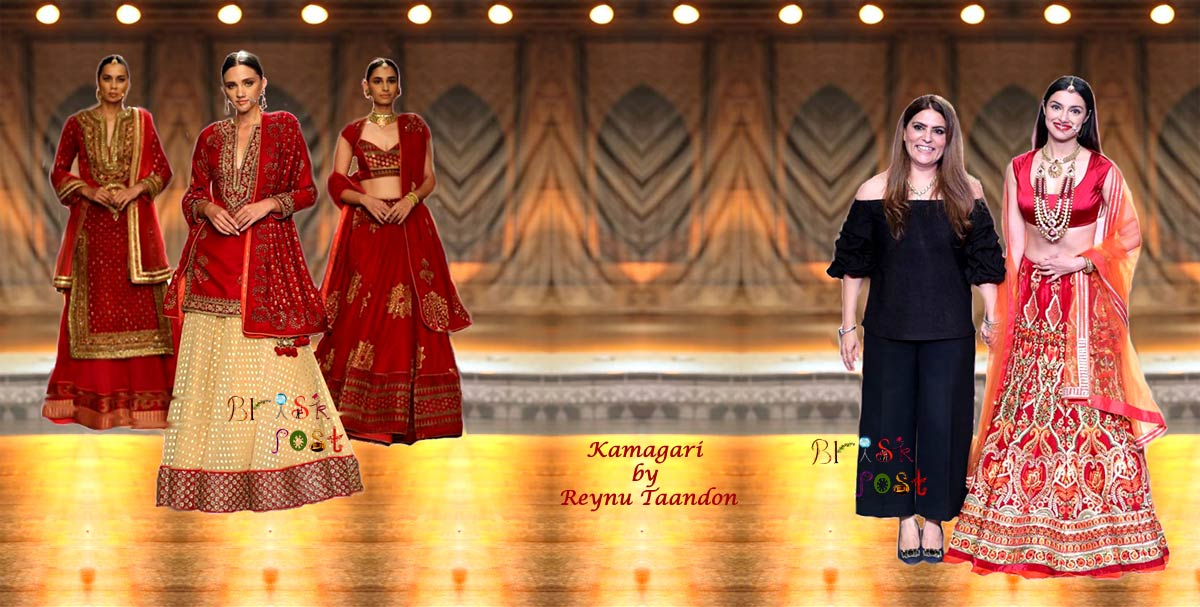 Royal New-Age Indian Bride Divya Ghosla for Kamangari by Reynu Taandon