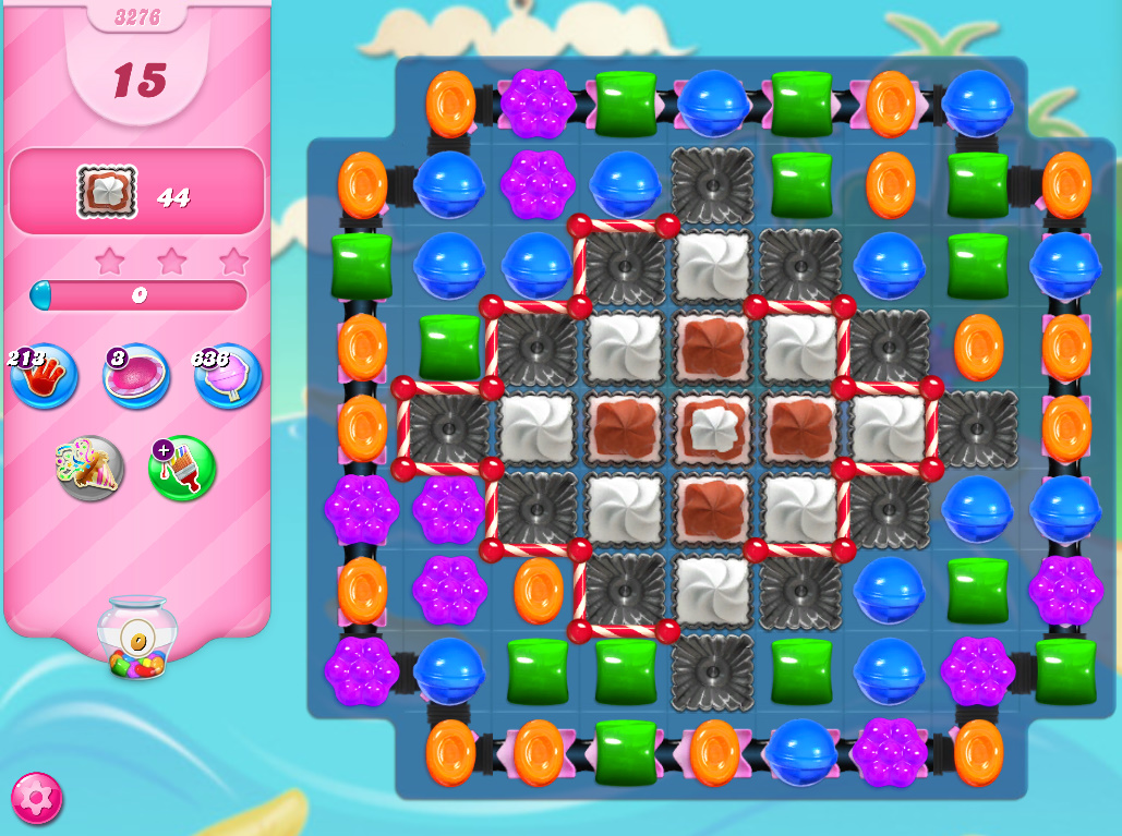 Candy Crush Saga level 3276