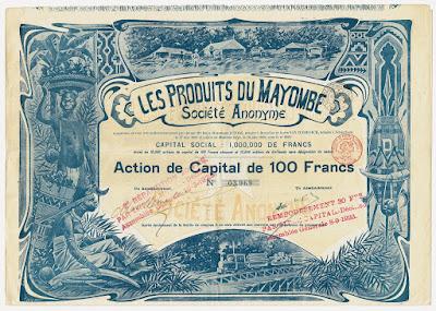 1899 share from Les Produits du Mayombe