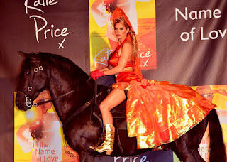 Katie Price Hot Style On Horse
