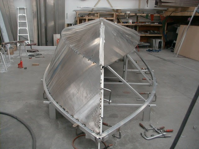 Amf Boats Alloy Boat Builders Production Process Of Amf
