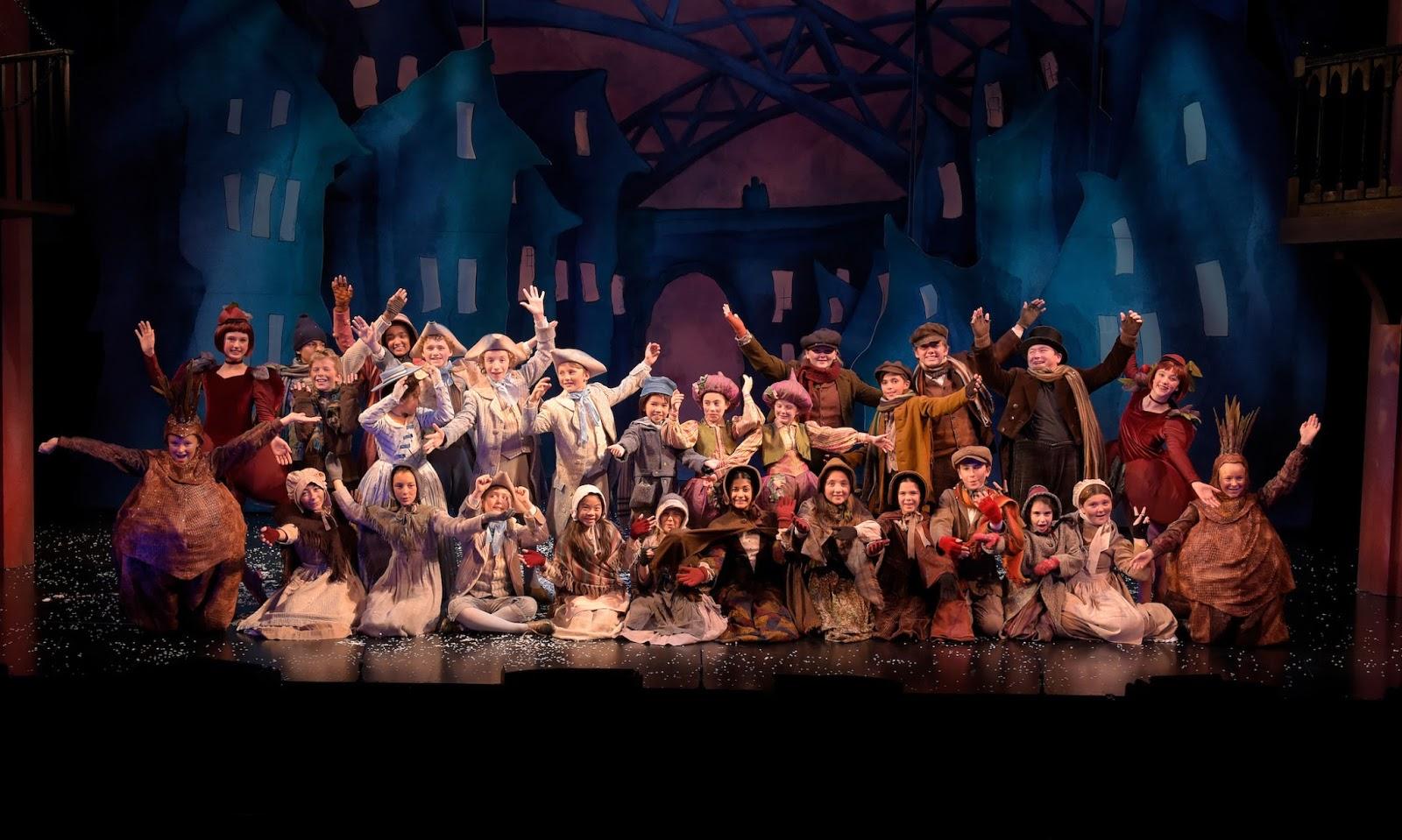 Act Christmas Carol.Masters Of Merry Making Returning Yc Actors In I Carol I