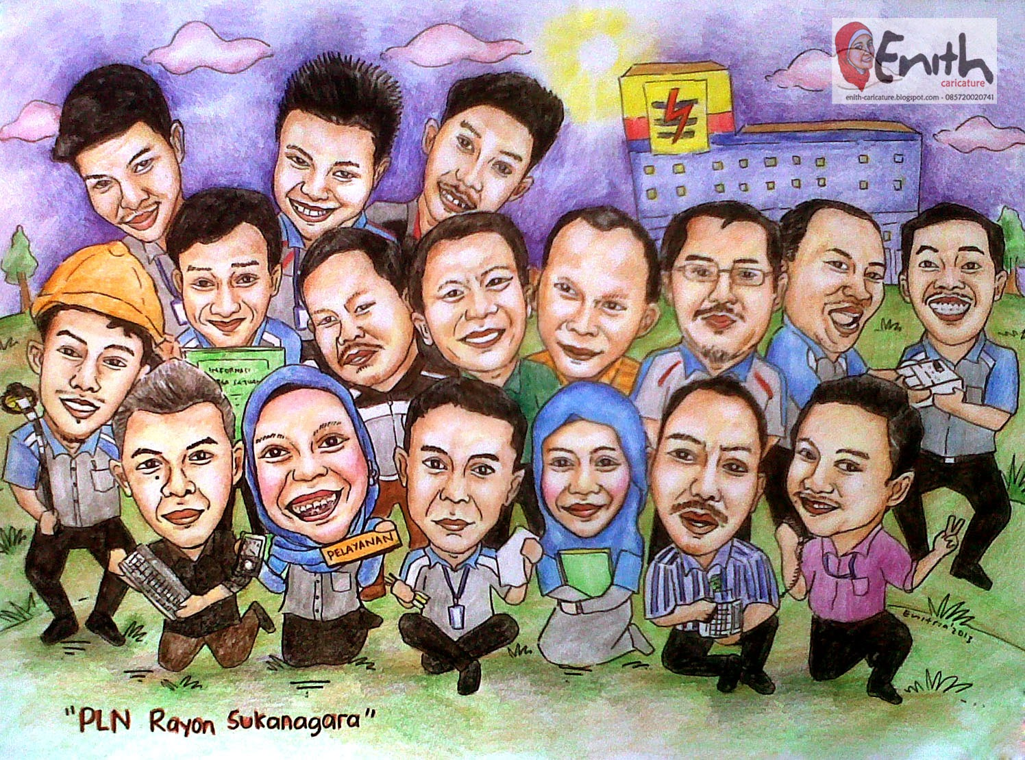 ENITH Caricature
