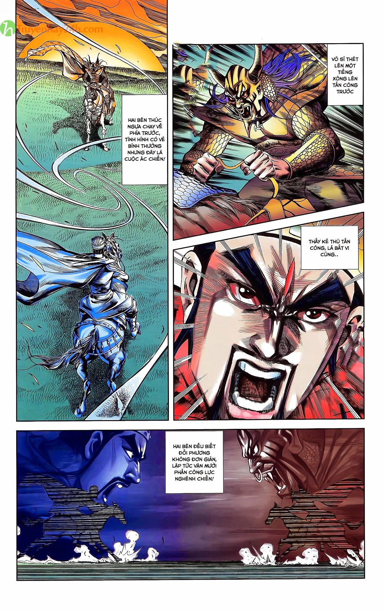 Tần Vương Doanh Chính chapter 31 trang 5