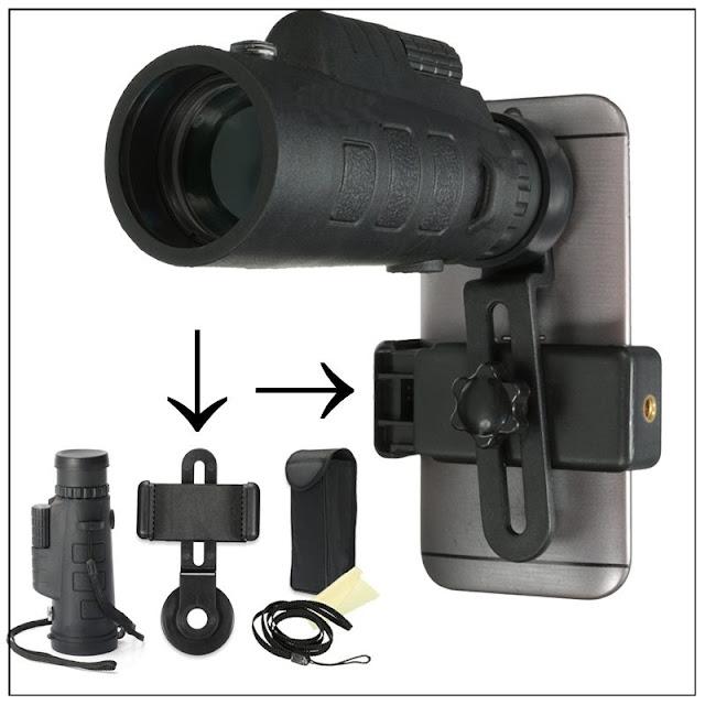Acessórios de fotografia e celular no aliexpress