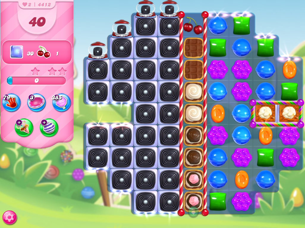 Candy Crush Saga level 4412