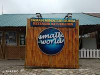 Pengalaman Ke Small World (Taman Miniatur Dunia) Purwokerto (Mei 2018)
