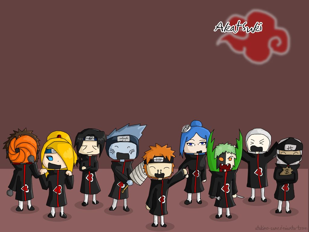 Wonderful Wallpaper Naruto Cute - Cute_Akatsuki_Wallpaper_by_ChibiAkatsukiLovers1  Collection_1009794.jpg