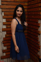 Radhika Mehrotra in a Deep neck Sleeveless Blue Dress at Mirchi Music Awards South 2017 ~  Exclusive Celebrities Galleries 093.jpg