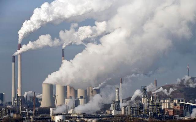 Sanitary School: Makalah Pencemaran Udara akibat Bahan Bakar Fosil