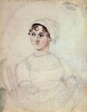 Jane Austen portrait par Cassandra Austen