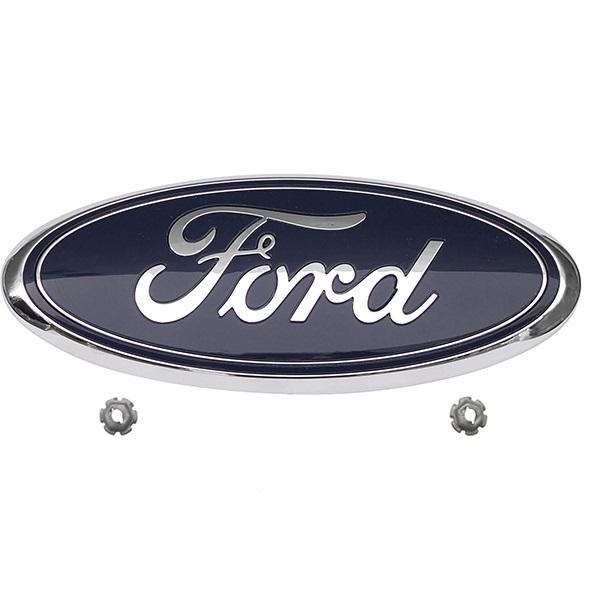 Lô gô (biểu tượng, chữ Ford) Ford Transit (2008, 2009, 2010, 2011, 2012, 2013)| Logo (lô go) Transit, Biểu tượng Transit, Chữ ford mặt nạ Transit| FB5Z-8213-A / FB5Z8213A 287| Logo trước Explorer