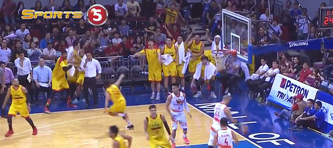 Star Hotshots' Mon Abundo Blows Past Three Defenders!!! (VIDEO)