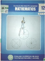 2nd year Math book Punjab Board PDF Download - Zahid Notes