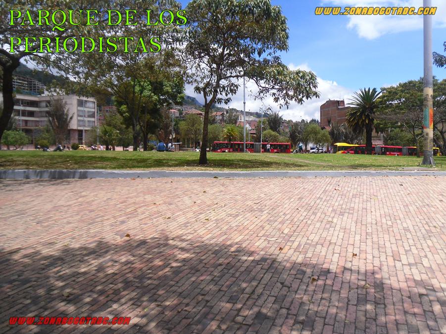 Parque de los Periodista - Bogotá
